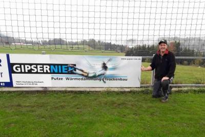 Unsere neue Bandenwerbung beim FC Dachsberg in Wilfingen